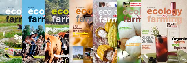 Ecology & Farming, the magazine
