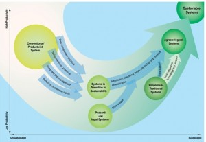 Agro-Ecology, transition to sustainable