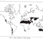 arid zone of the world