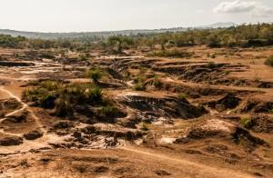 Tana River, Kenya., Soil erosion.