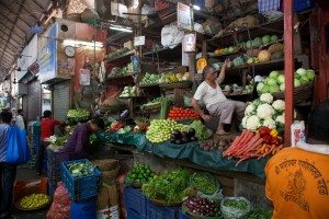 in Mumbai's Crawford Market.
